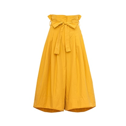 Yellow Mustard High Waisted Culottes