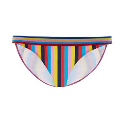Razzle Striped Bikini Bottoms
