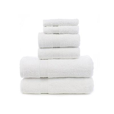 Chakir Turkish Linens Soft Touch Linen Terry Cloth Towel Set