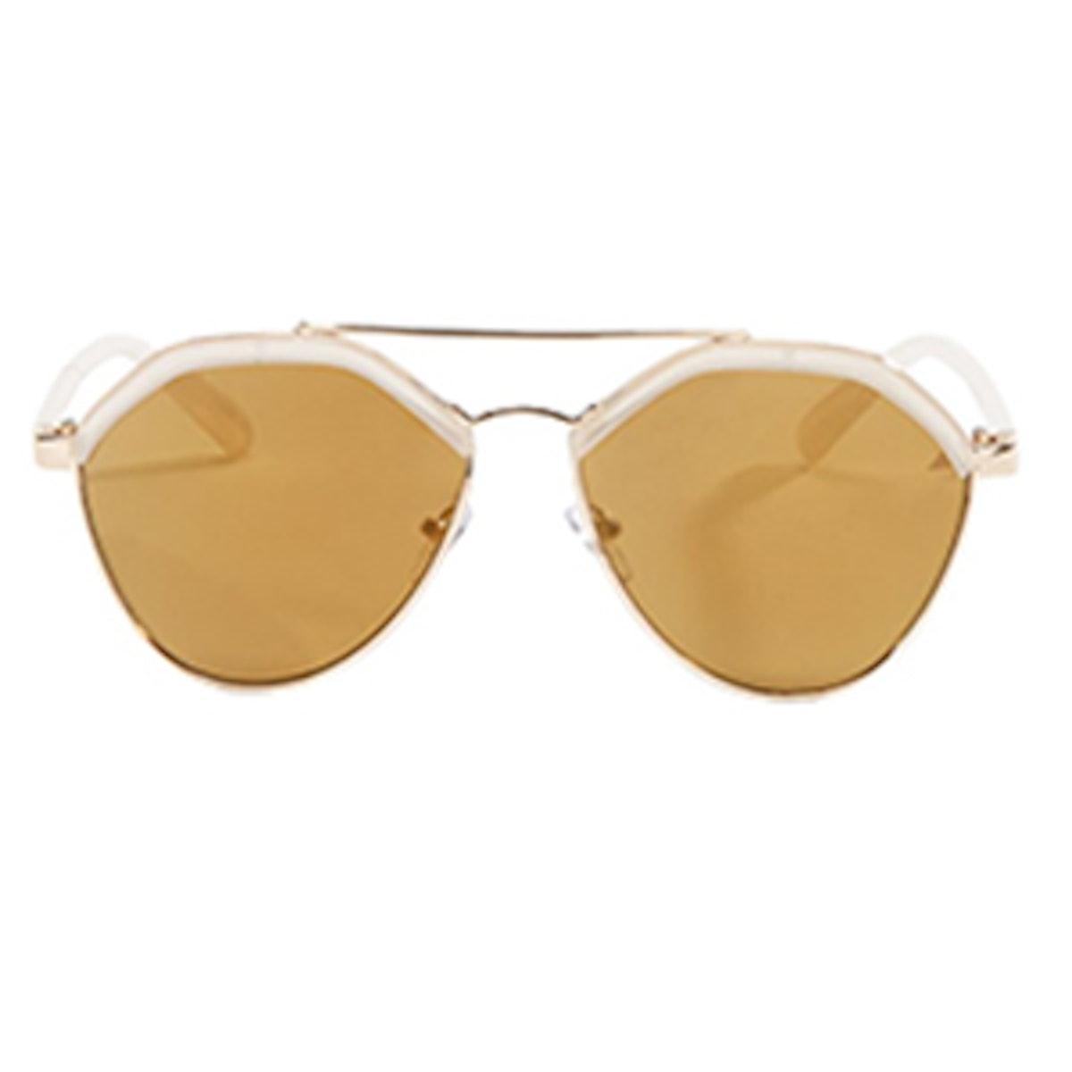 Topped Aviator Sunglasses