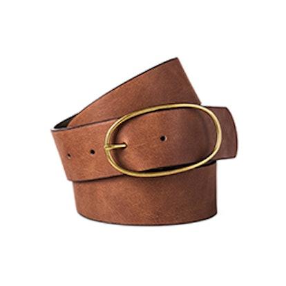 Jean Oval Center Bar Belt