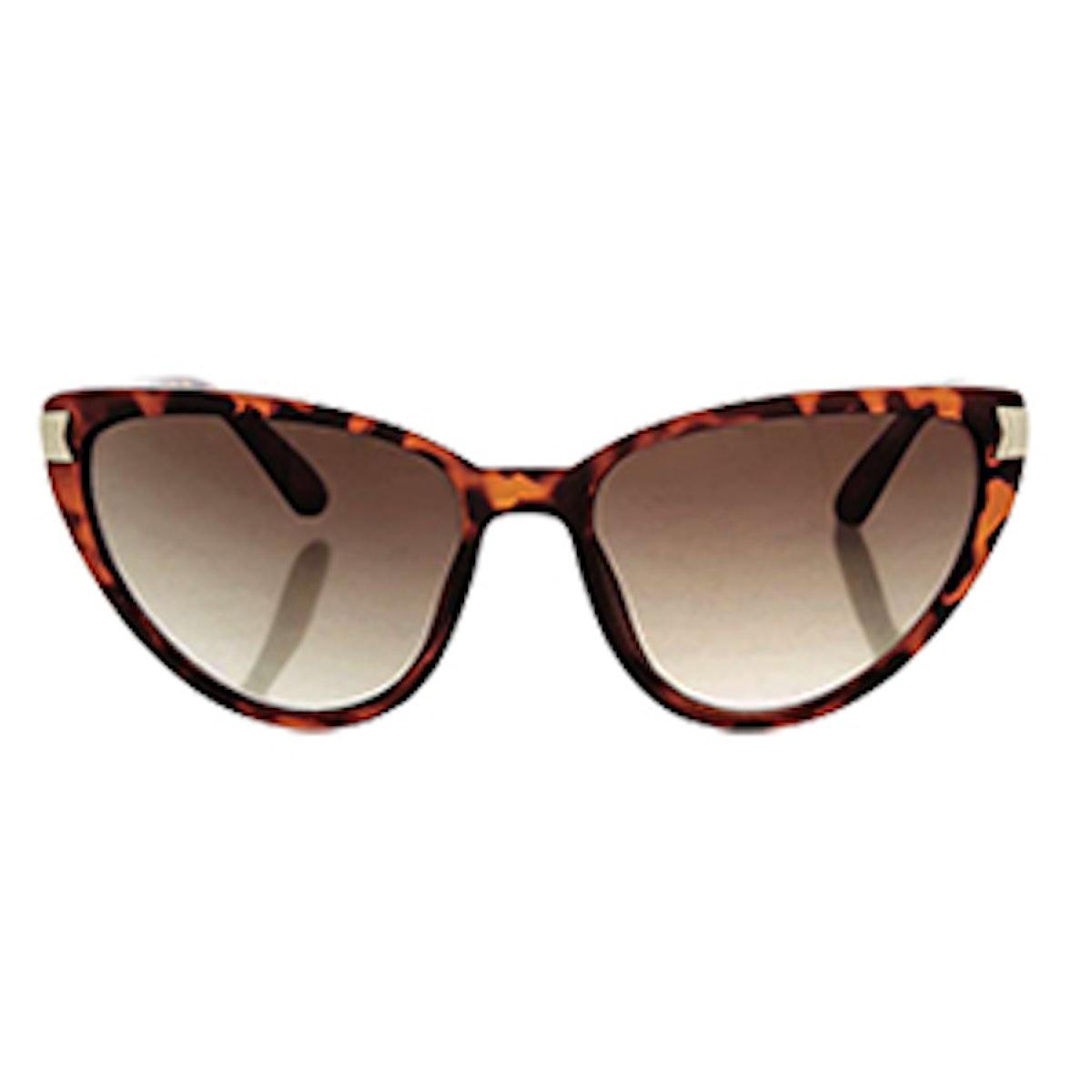 Vintage Oval Shaped Sunglasses