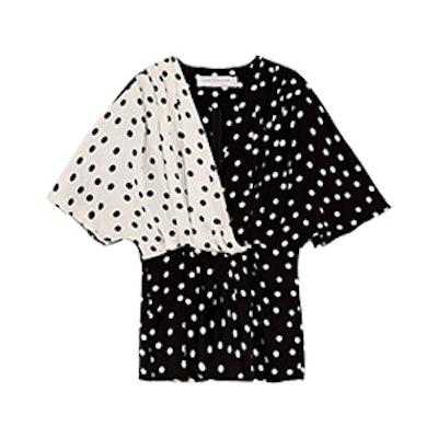 Combined Polka Dot Shirt