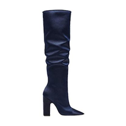 Sateen High Heel Boots