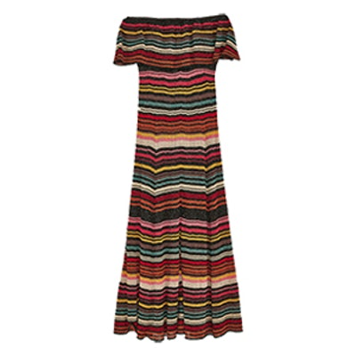 Multicoloured Striped Dress