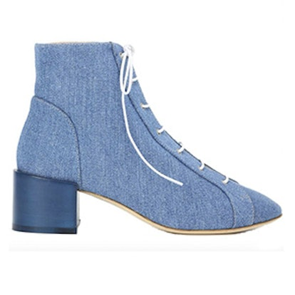 Mable Denim Ankle Boots