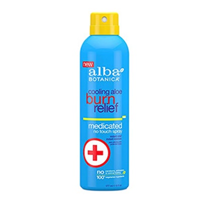 Alba Botanica Cooling Aloe Burn Relief