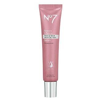 No.7 Restore & Renew Face & Neck Multi Action Serum