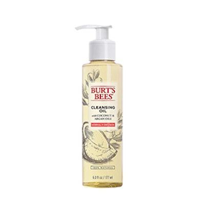 Facial Cleansing Oil with Coconut & Argan Oil 6 fl oz