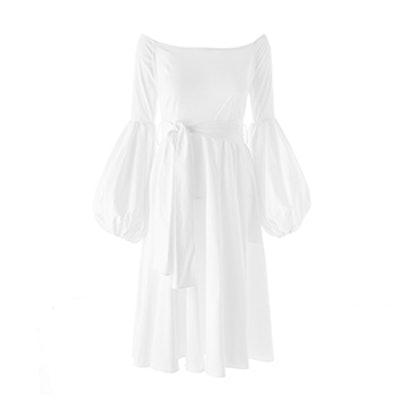 Gisele Tea Length Dress