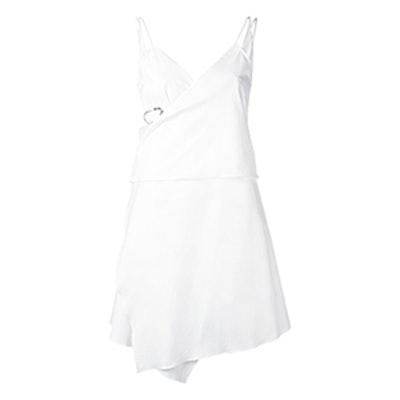 Buckle Wrap Dress