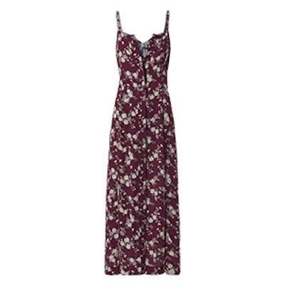 Nathalie Double Layer Silk Dress