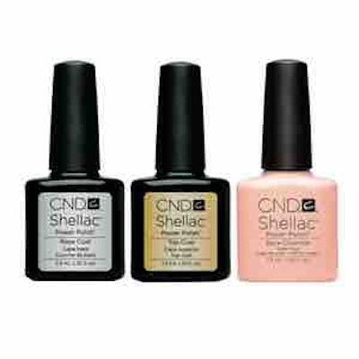 Shellac Combo – Base, Top & Bare Chemise