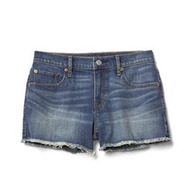 Mid Rise Vintage Cutoff Shorts