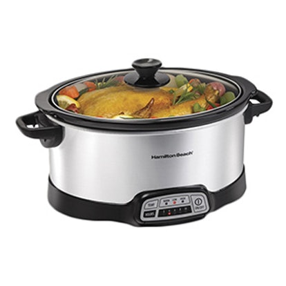 Programmable Slow Cooker, 7-Quart