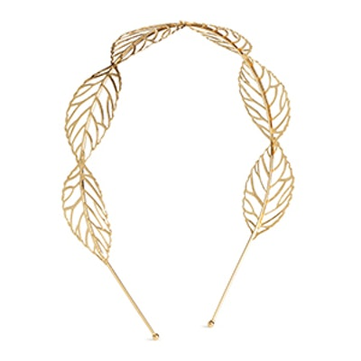 Hairband with Leaves