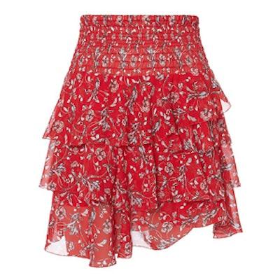 Keelan Ruffle Mini Skirt