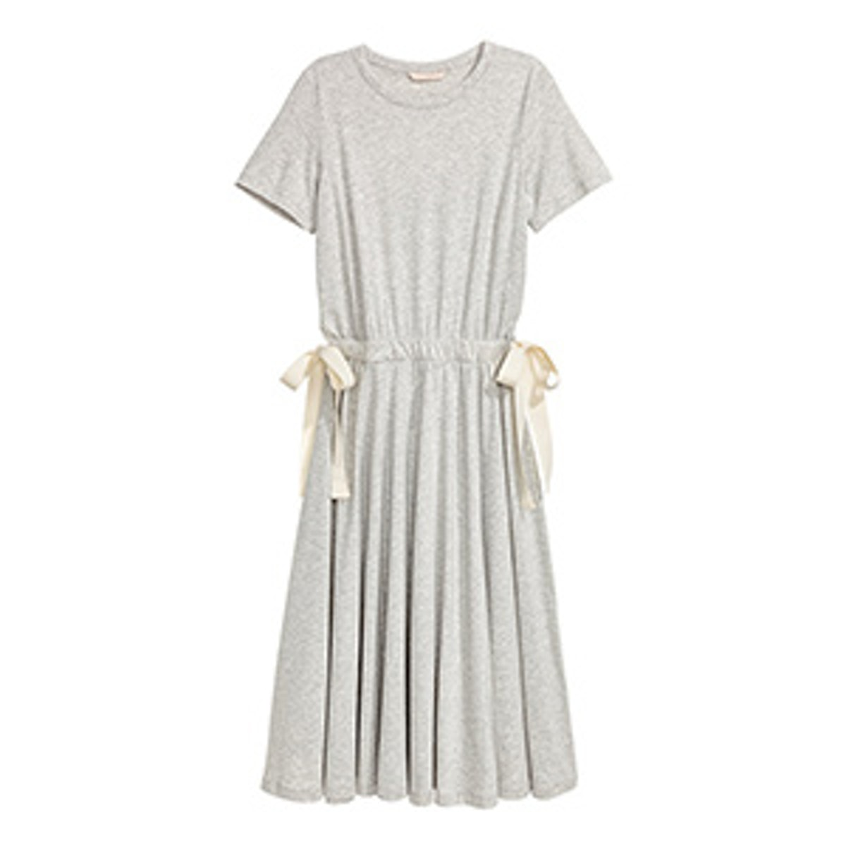 Jersey Dress With Ties