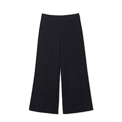 Knapp Wide-Leg Cropped Pants