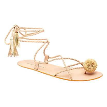 Bo Tassel Wrap Sandal