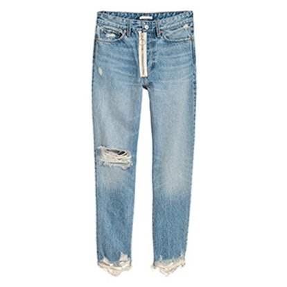 Loose Fit Trashed Jeans