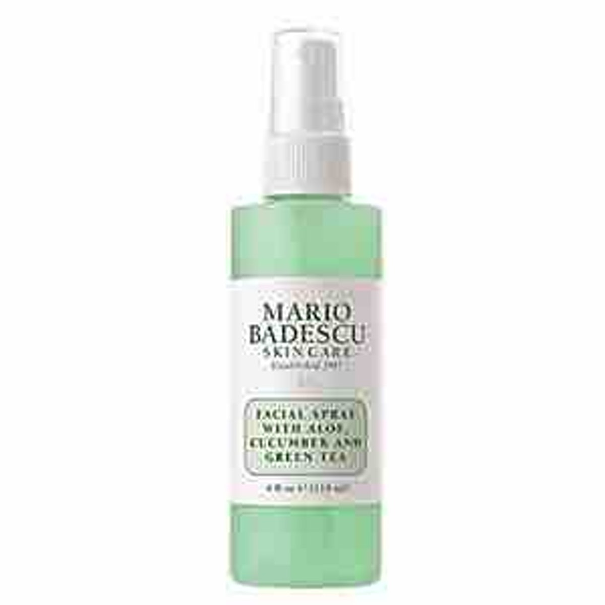 Facial Spray With Aloe, Cucumber And Green Tea