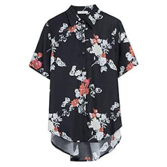 Oversized Collared Shirt