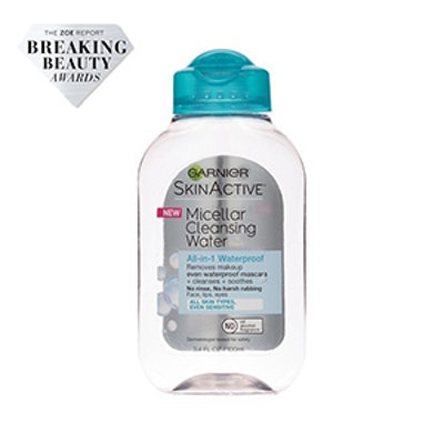 SkinActive Micellar Waterproof Cleansing Water 3.4 oz