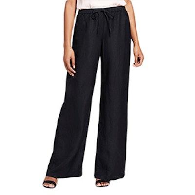 Women's Linen Wide Leg Pants
