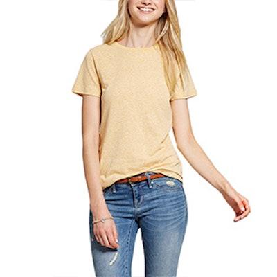 Women's Short Sleeve Essential Crew Tee Shirt Triblend
