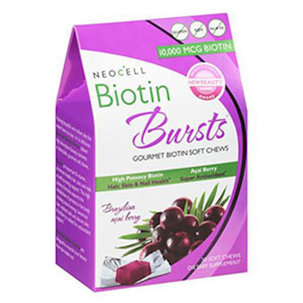 Biotin Bursts Gourmet Biotin Soft Chews
