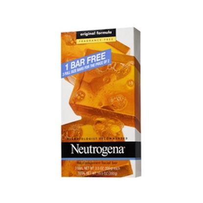 Neutrogena Fragrance-Free Facial Cleansing Bar