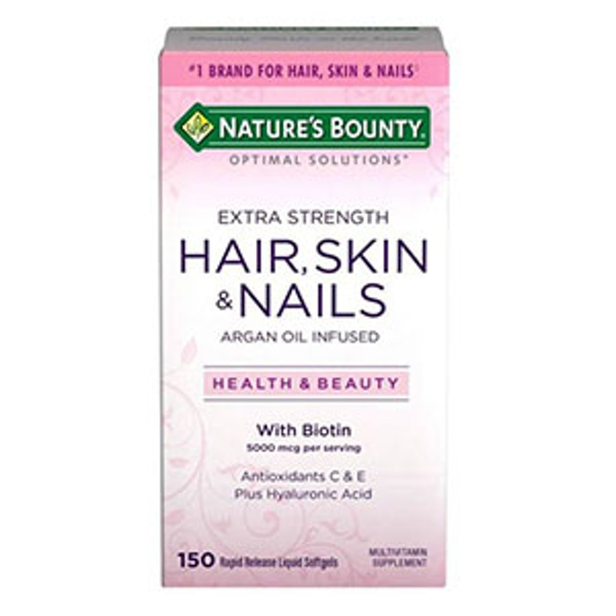 Extra Strength Hair Skin And Nails Softgels