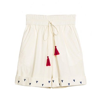 TOMS Embroidered Shorts
