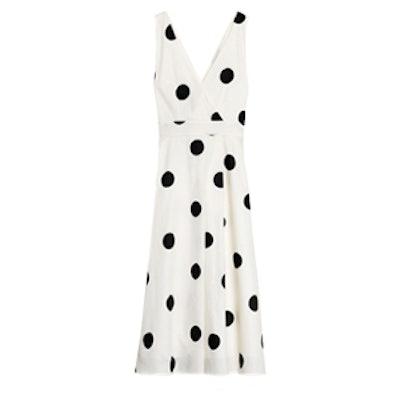 Lare Dots Cotton Dress