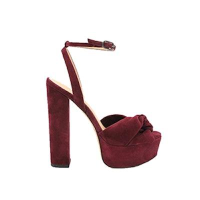 Claudette Suede Platform Sandals