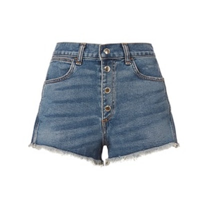 Jean Lou Button Fly Shorts