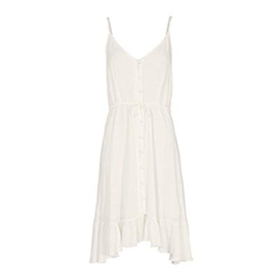Clara Midi White Dress
