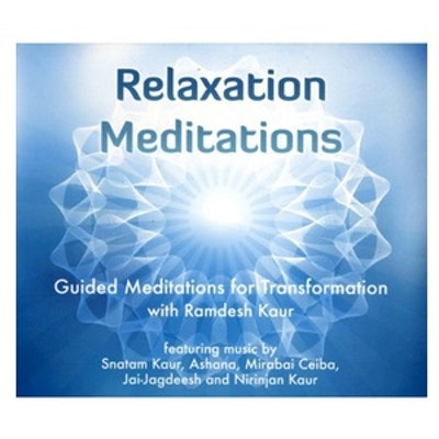 Relaxation Meditations: Guided Meditations for Transformation CD