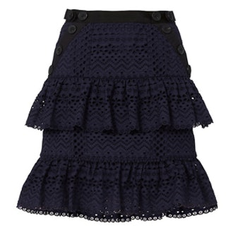 Hazel Ruffle Mini Skirt