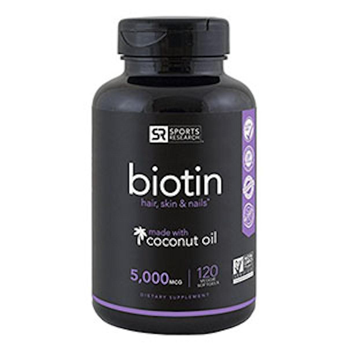 Biotin Veggie Softgels