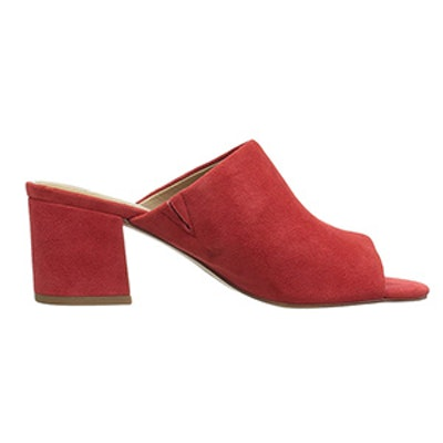 Belle Block Heel Mule