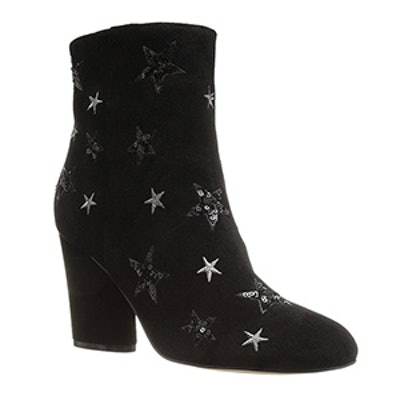 Nash Star Sequin Oval Heel Ankle Bootie
