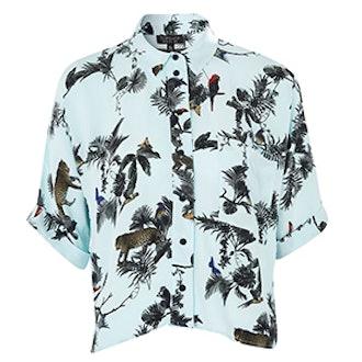 Short Sleeve Jungle Print Shirt