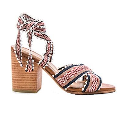 Rowena Handloom Heels