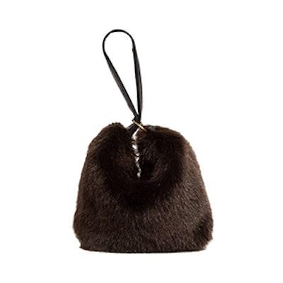 Tissue Pouch Faux Fur Bag