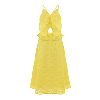 Broderie Butterfly Dress