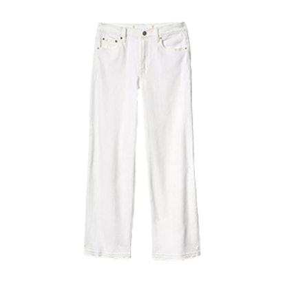 High Rise Wide-Leg Jeans