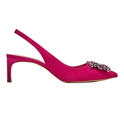 Beaded Leather Shoes