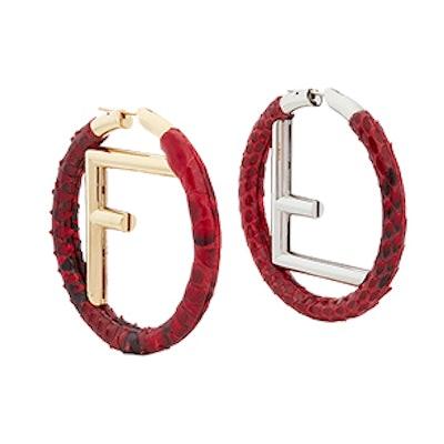 F Is Fendi Earrings